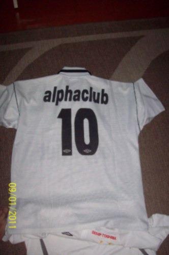kit-2 camisas do santos futebol clube anos 90