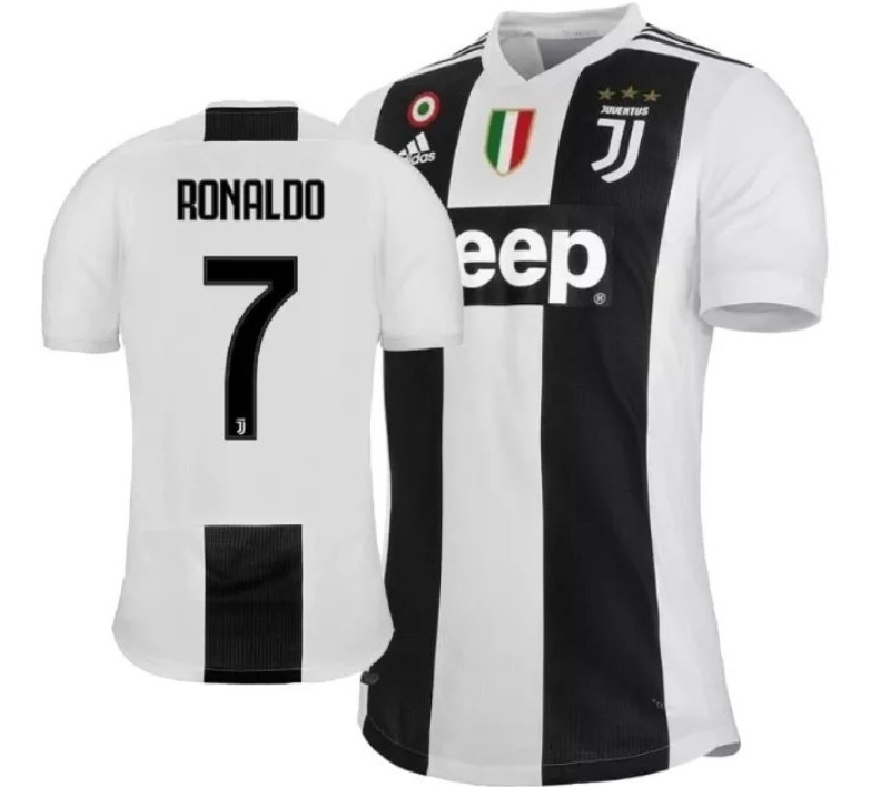 the latest 01d81 02180 Kit 2 Camisas Juventus Temporada 2018/2019 Cr7-original