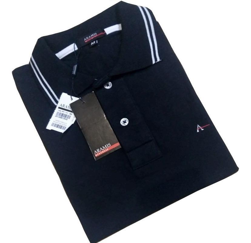 1161d8a12fcb Kit 2 Camisas Pólo Aramis Lisa Algodão Piquet - R$ 139,99 em Mercado ...