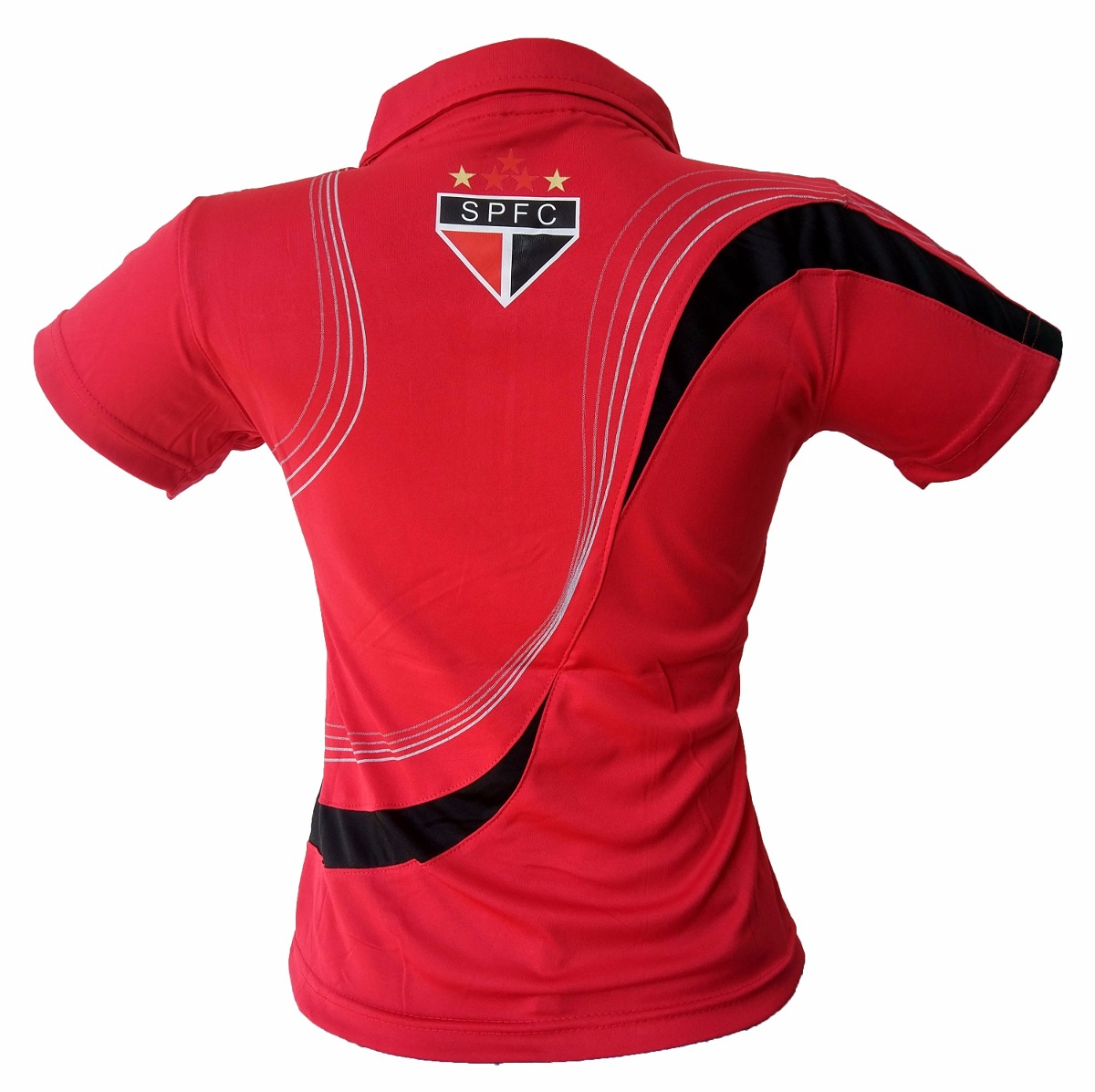 f352d2f16f kit 2 camisas polo feminina são paulo modelol baby look. Carregando zoom.