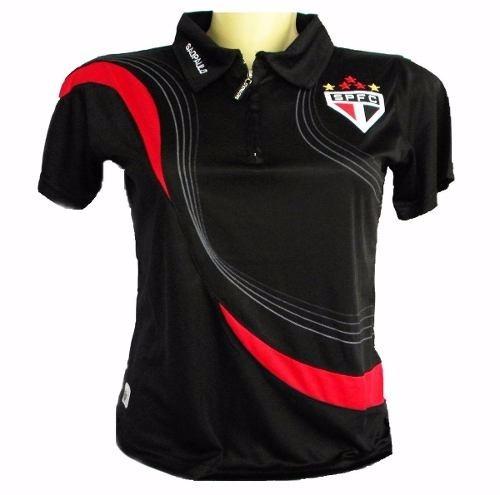 cbba1e58cb Kit 2 Camisas Polo Feminina São Paulo Modelol Baby Look - R  120