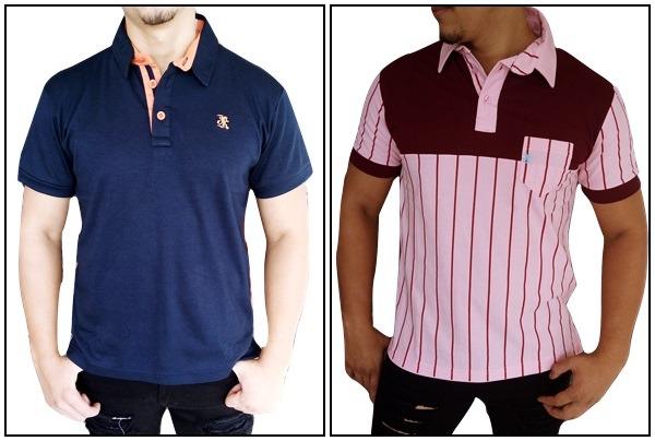 Kit 2 Camisas Pólo Justink Premium (promoção) - R  99 d343097f2d4a9