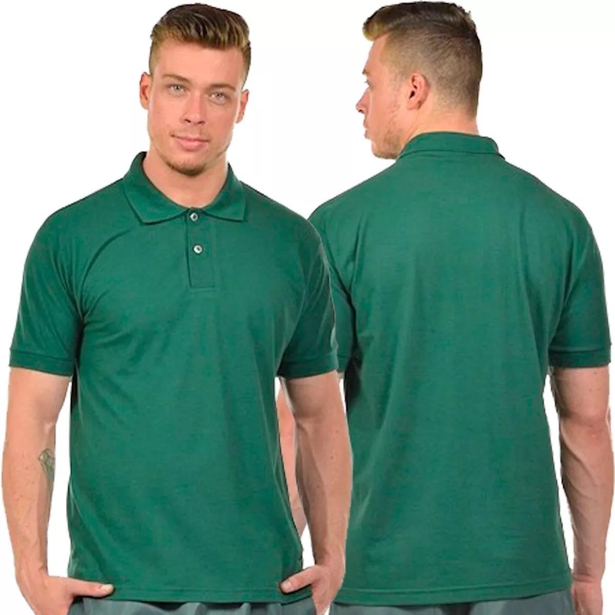 kit 2 camisas pólo masculina gola sortida colorida camiseta. Carregando  zoom. 1c119c603c99f