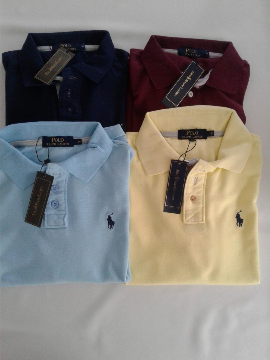 Kit 2 Camisas Polo Ralph Lauren -importada - - R  199 d4514a3925a