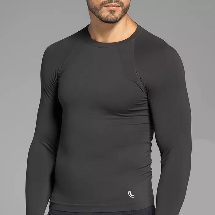 Kit 2 Camisas Térmicas Run Masculina Manga Longa Lupo - R  182 52a1258ad4d70