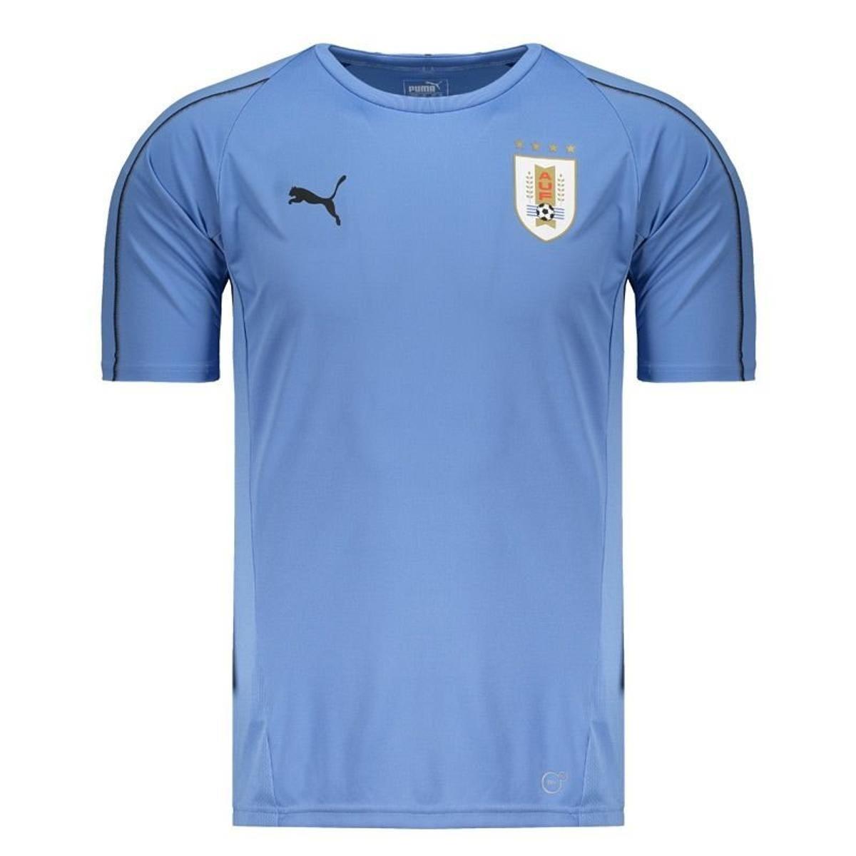 610b6125eb kit 2 camisas uruguai 2018 puma original dry cell 1magnus. Carregando zoom.