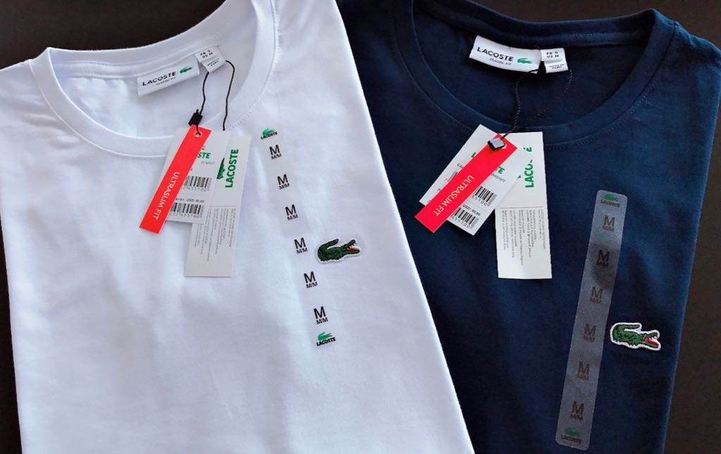 de150c45cd714 Kit 2 Camiseta Basica Masculina Classic Importada Peruana - R  124 ...