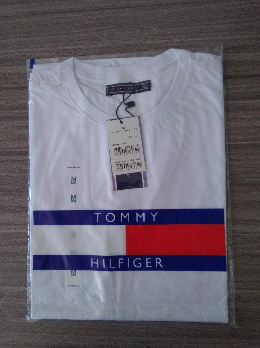 kit 2 camiseta basica tommy hilfiger peruana promoção. Carregando zoom. 186d991598d