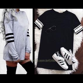 b32b9f4a31 Kit 2 Camiseta Feminina Tumblr Style Roupa Estilo Swag Moda