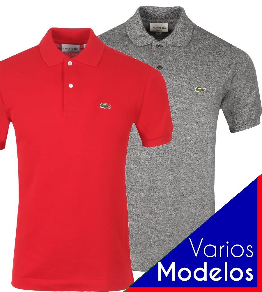 Kit 2 Camiseta Lacoste Polo Original Peruana Masculina Prl R 279