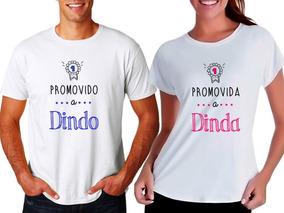 84810797af Sou Da Dinda E Do Dindo Enzo - Camisetas no Mercado Livre Brasil