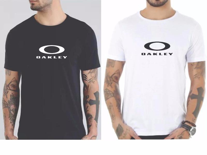 7fa4279de Kit 2 Camiseta Oakley Masculino Camisa Oakley Promoção - R  79