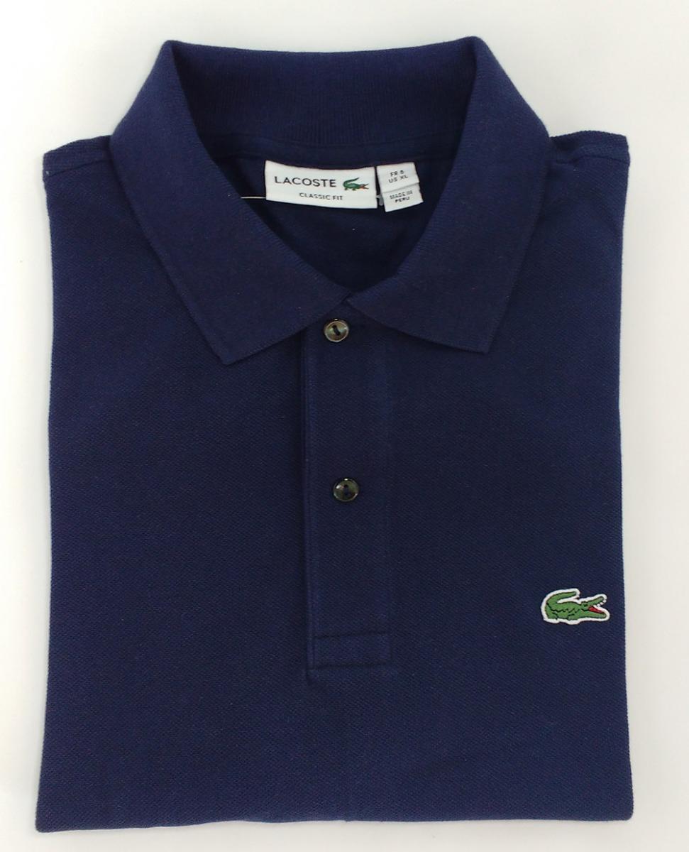 a9b1e876852 Kit 2 Camiseta Polo Lacoste Original Peruana Camisa Live Lct - R ...