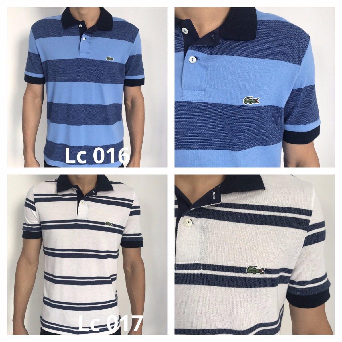 27e19a08f3d70 kit 2 camiseta polo lacoste original promoção top queima. Carregando zoom.
