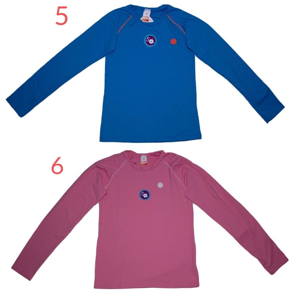 1d3987d3ca69 kit 2 camisetas de proteção uv infantil promoção marisol. Carregando zoom.