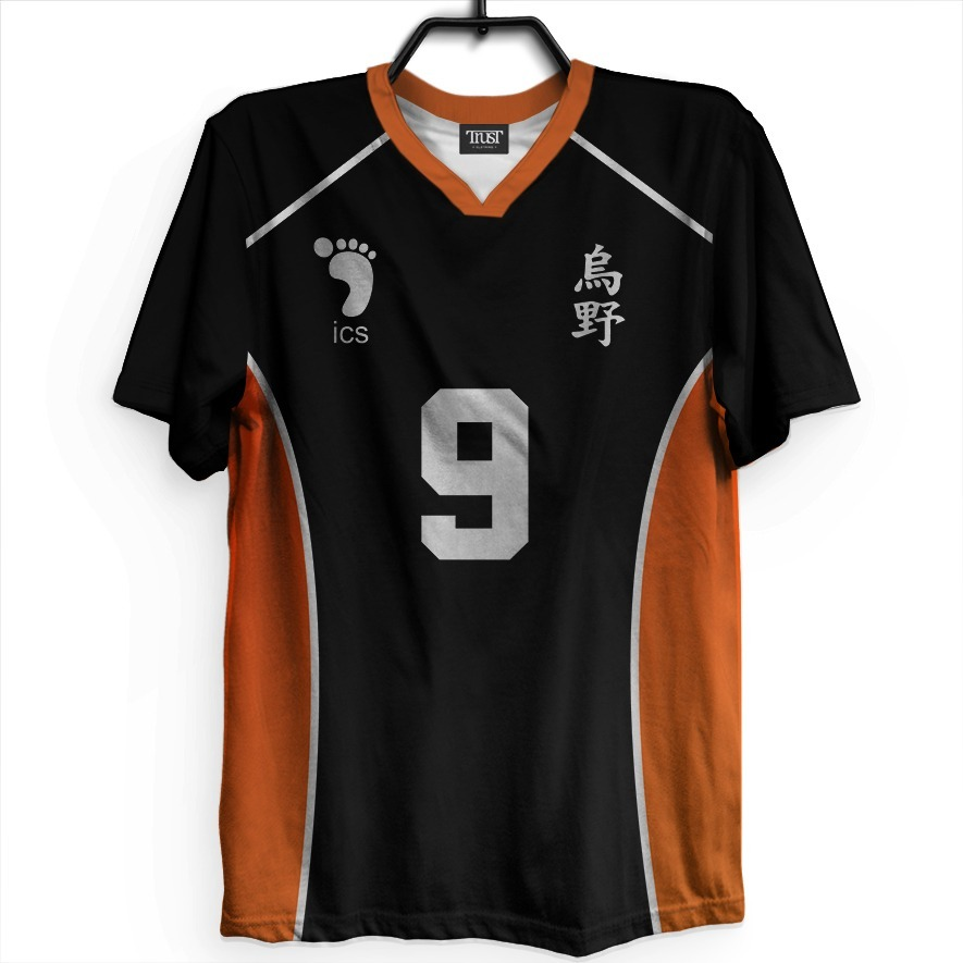 Kit 2 Camisetas Haikyuu Uniforme Karasuno Aoba Johsai Anime - R  179 ... 329882f7b5920