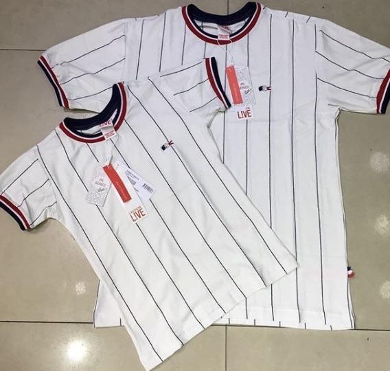 62d148cbf0220 Kit 2 Camisetas Mozao Casal Lacoste Original Frete Grátis - R  169 ...