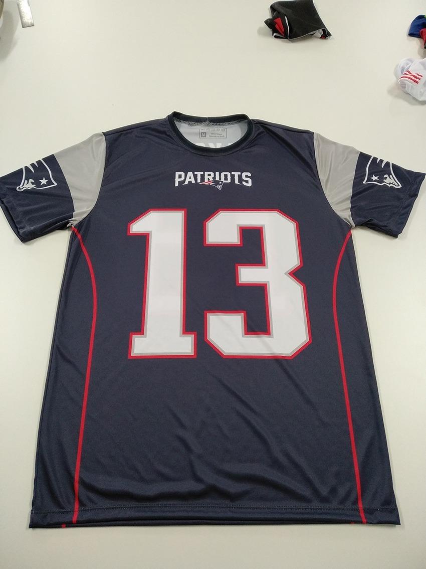 4a9f0c0e0 Kit 2 Camisetas New England Patriots Nfl Personalizada - R  129