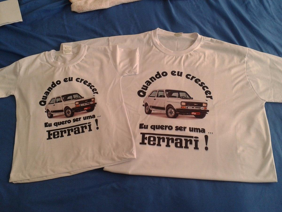 195e804fa kit 2 camisetas personalizada carro antigo opala fiat147. Carregando zoom.