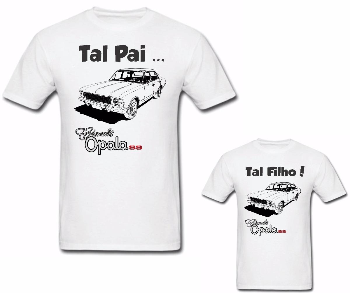 509c74803 kit 2 camisetas personalizadas carro antigo opala 4 portas. Carregando zoom.
