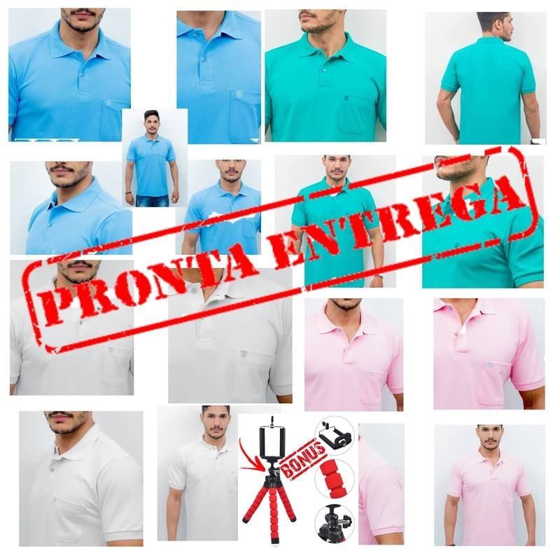 2489415959071 kit 2 camisetas polo   camisa polo original   100% algodão. Carregando zoom.