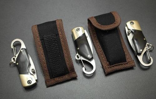 kit 2 canivete disfarçado de chaveiro de carro promoção