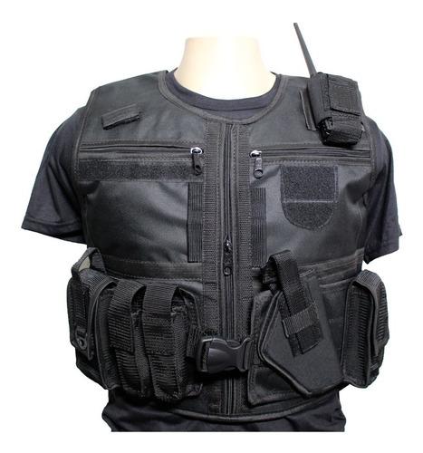 kit 2 capa de colete militar policial segurança privada