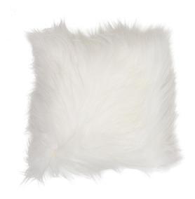 e40b26d9ca21d5 Kit 2 Capa Para Almofada Pelucia Peluda Pelo Alto Branca