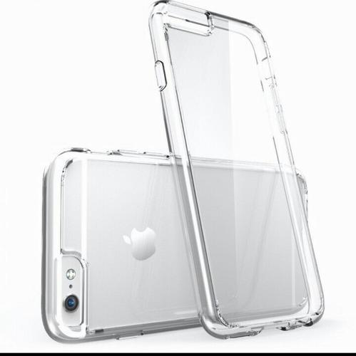 kit 2 capas case transparente iphone 5/5s 6/7 case acessório