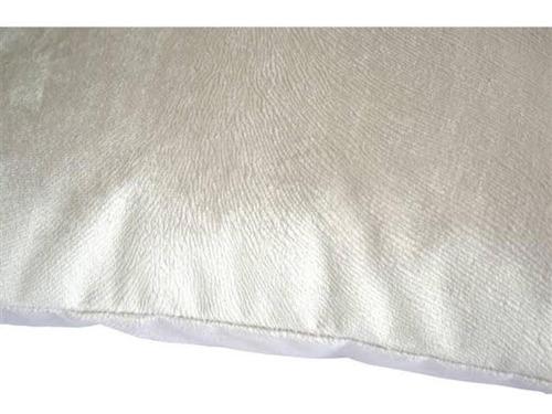 kit 2 capas de almofadas suede 45x45 zíper invisível