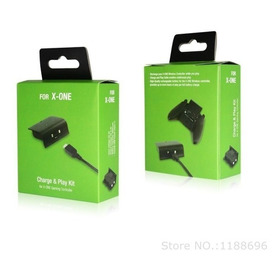 Kit 2 Carregadores + 2 Baterias De Xbox One Controles S/ Fio