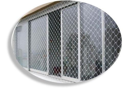 kit 2 carretel de rede, tela de proteção, segurança,1,60x30m