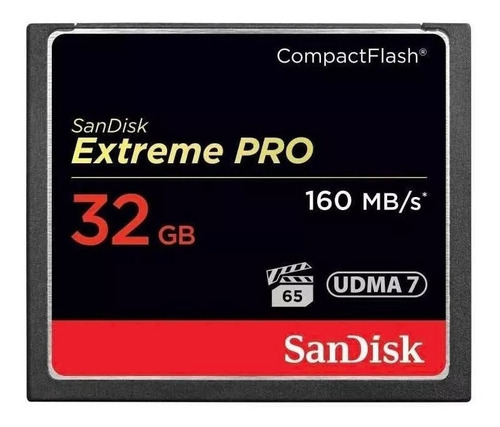 kit 2 cartao cf compact flash 32gb sandisk extreme pro