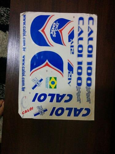 kit 2 cartelas adesivos colantes trek 4000 -