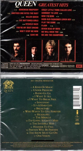 kit 2 cds queen - greatest hits vol.1 e 2