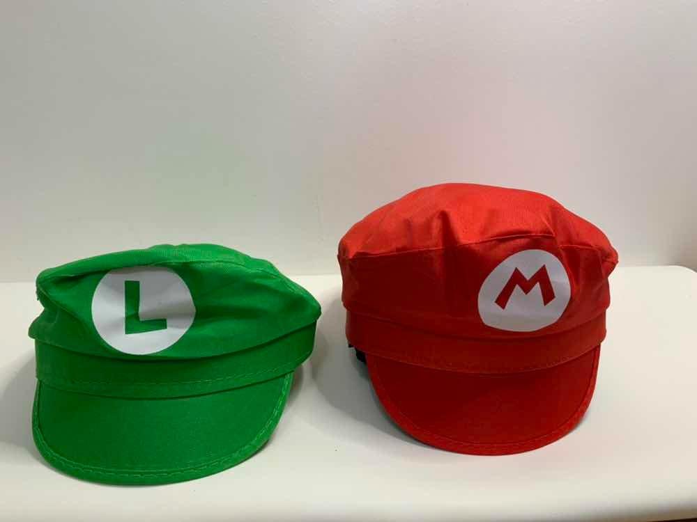kit 2 chapéu boné boina mario bros e luigi monte o carnaval. Carregando  zoom. 9dbb21125fb