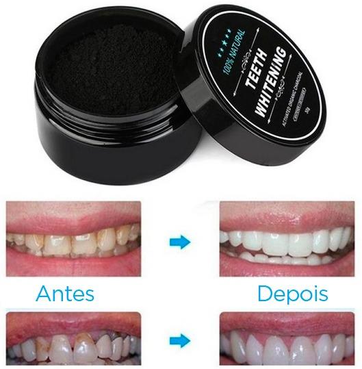 Kit 2 Clareamento Caseiro Dental Em Po De Carvao Original R 94 50