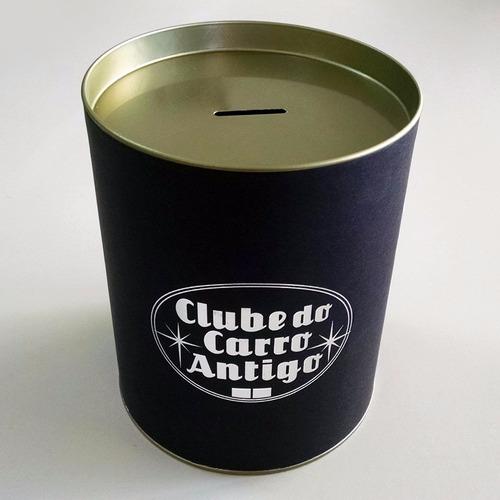 kit 2: clube do carro antigo do brasil (boné+cofre)