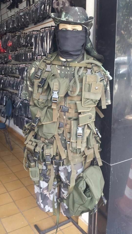 kit 2 colete tático modular militar airsoft paintball. Carregando zoom. 3cef481ca97a3