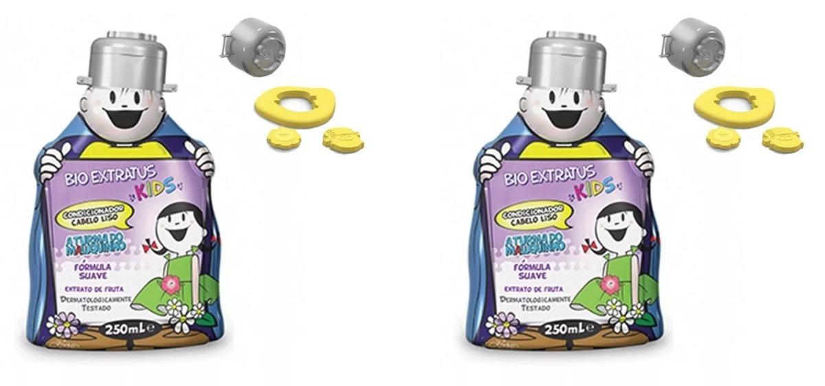 edadae085 kit 2 condicionadores bio extratus kids cabelos lisos 250ml. Carregando  zoom.