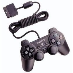 kit 2 controle manete serie a original ps2 sony dualshock