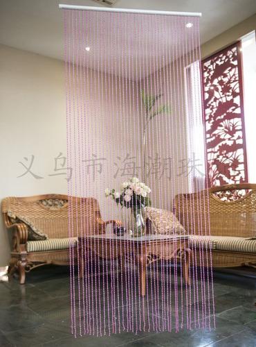 kit 2 cortinas de miçangas brilhosa acrilicas, decorativas