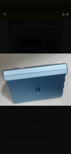 kit 2 despertadores casio dq541 azul novo original na caixa