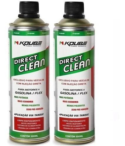 kit 2 direct clean injeção direta koube