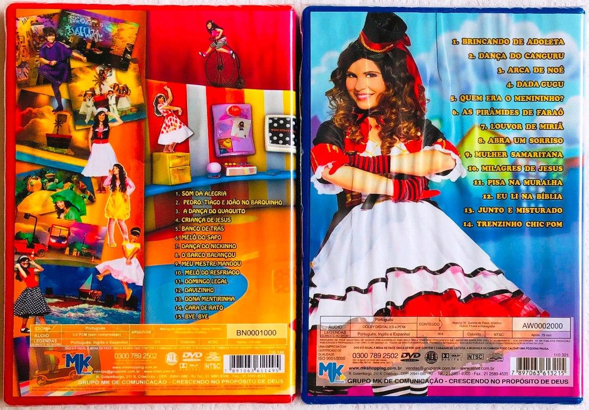 Aline Barros Aline Barros & Cia 2 kit 2 dvds aline barros & cia vols. 2 e 3 lacrados originais