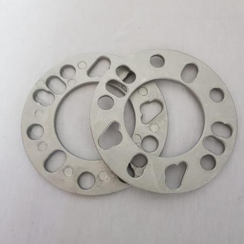 kit 2 espaçador roda 4x98 4x100 4x108 5x100 5x112 5x114 6mm