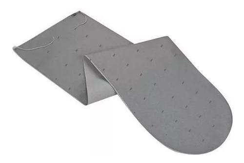 kit 2 forro térmico tábua de passar almofadado 1,60m x 0,60m