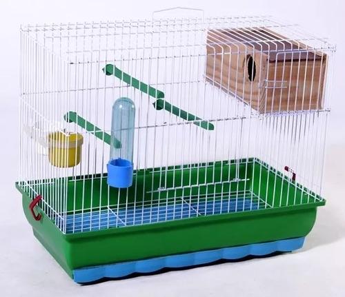 kit 2 gaiola p/ agapornis periquito australiano viveiro