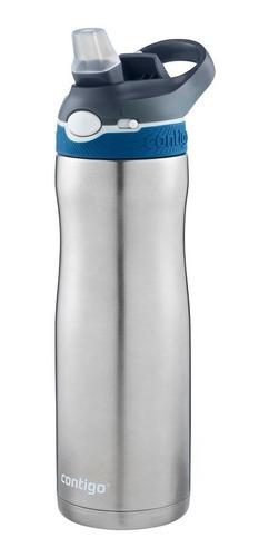 kit 2 garrafa squeeze térmico contigo 591ml aço inox