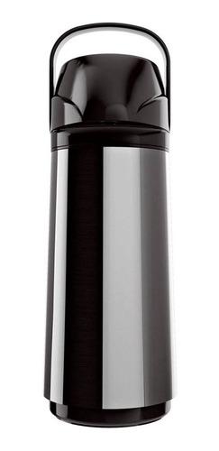 kit 2 garrafa térmica invicta air pot new aço inox 1,0 litro